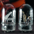 オルゴール ガラス製  楽器 ガラス...